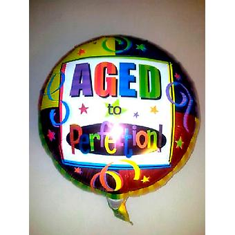 Foil Balloon AGED TO PERFECTION