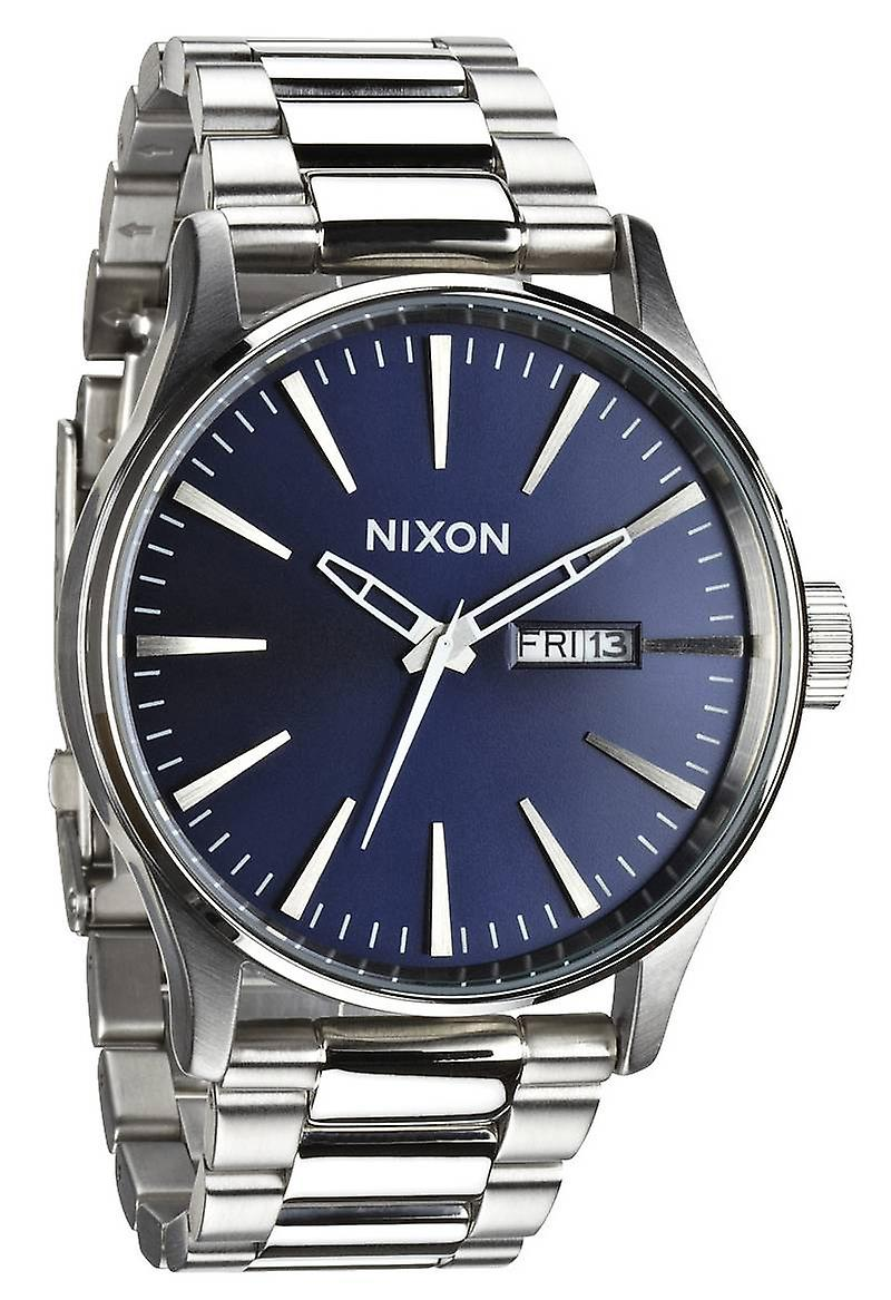 Nixon The Sentry SS Watch - Blue Sunray
