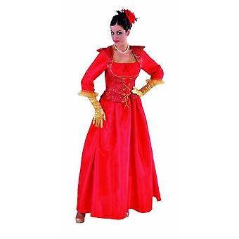 Women costumes Women Marquis Lady deluxe Red