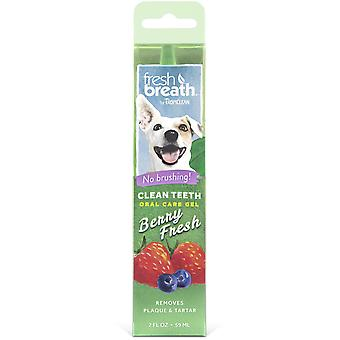 TropiClean Gel Dental Fresh de Frutas del Bosque 59 ml