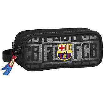 F.C. Barcelona Portatodo Doble F.C.Barcelona Black (Toys , School Zone , Pencil Case)