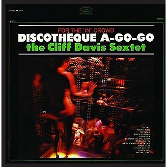 Cliff Davis Sextet - Discotheque a-Go-Go [CD] USA import