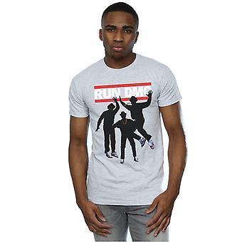 Køre DMC mænds silhuet hoppe T-Shirt