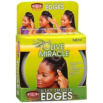 African Pride Olive Miracle Silky Smooth Edges 64 Gr (Hair care , Styling products)