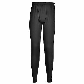 Portwest - ropa interior Ponte polainas de trabajo deporte Johns largo pantalón