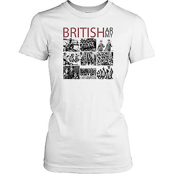 Damen T-shirt DTG Print - World War 2 - The British Army - World