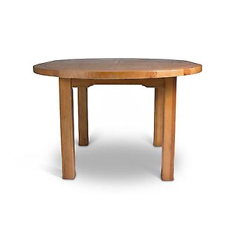 Direct Home Living Toulouse Oak Large Round Extending Dining Table