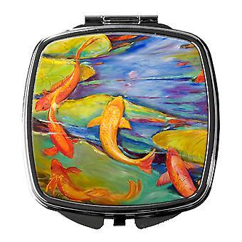 Каролинских сокровища JMK1263SCM Koi компактный зеркало