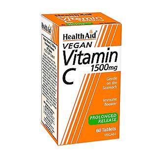 Health Aid Vitamin C 1500mg - Prolonged Release ,  60 Tablets