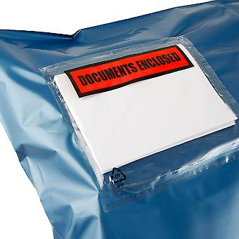 Essentials Documents Enclosed Parcel Wallets