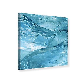 Leinwand drucken Ice Look