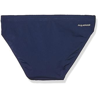 Zoggs Kid's Cottesloe Racer Swimming Trunks - Navy, 12-13 Years