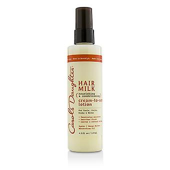 Carol's Daughter Hair Milk Nourishing & Conditioning Cream-To-Serum Lotion (For Curls, Coils, Kinks & Waves) 125ml/4.2oz