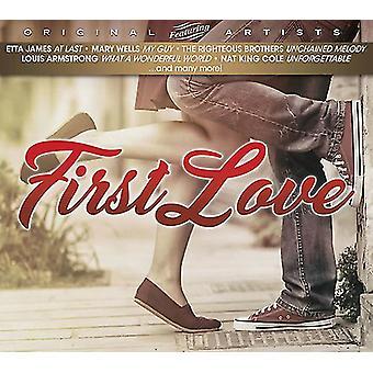 Forskellige kunstner - første kærlighed [CD] USA importerer
