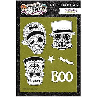 Photo Play Paper Etched Dies-Matilda & Godfrey PPMG2852