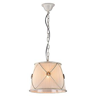Maytoni Lighting Lea Elegant Collection Pendant, White Gold