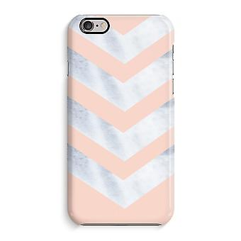 iPhone 6 / 6S Full Print Case (Glossy) - Marble arrows
