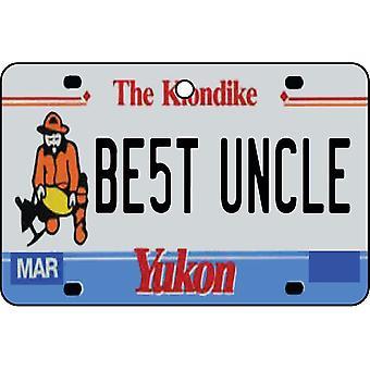 YUKON - Best Uncle License Plate Car Air Freshener