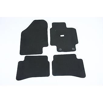 Fully Tailored Car Floor Mats For Hyundai ACCENT 2007-2010 Black