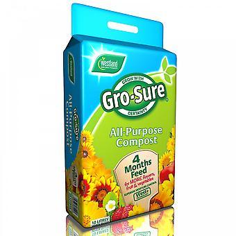 Westland Gro sicherstellen, dass alle Zweck Kompost 10lt