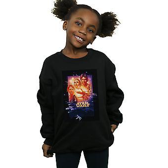 Star Wars Girls Episode V Movie Poster Sweatshirt
