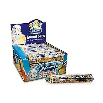 Johnsons Budgie Parakeet treat Honey Bars