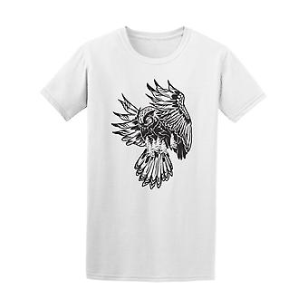 Eagle Flying In The Forest Tee Men's -Image by Shutterstock