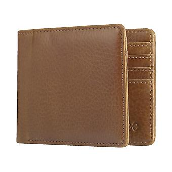 Lee mäns purse wallet väska Cognac 3918