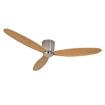 DC Ceiling Fan Airfusion Radar Chrome 132cm / 52
