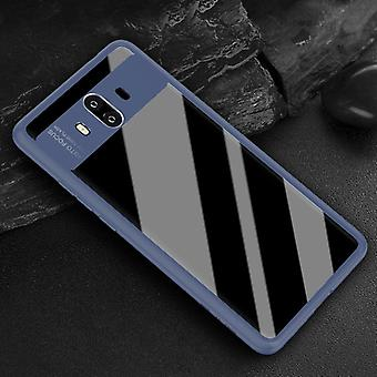 Original ROCK bumper case for Huawei mate 10 protective accessory bag cover case Blue new