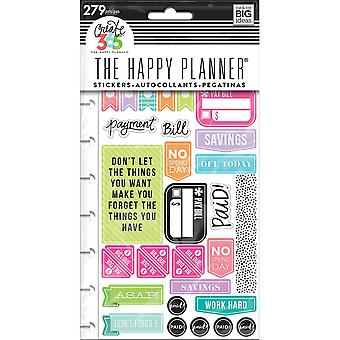 Create 365 Happy Planner Stickers 5/Sheets -Get Paid - Classic
