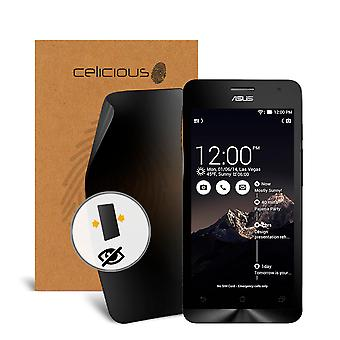 Celicious Privacy 2-Way Visual Black Out Screen Protector for Asus ZenFone 5 A500CG