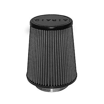 Airaid 702-457 Universal Clamp-On Air Filter: Round Tapered; 3.5 in (89 mm) Flange ID; 7 in (178 mm) Height; 6 in (152 m