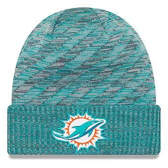 New era NFL sideline 2018 knit hat - Miami Dolphins