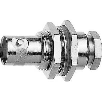 BNC connector Socket, built-in 50 Ω Telegärtner J01001A1318 1 pc(s)