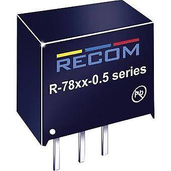 RECOM R-786.5-0.5 DC/DC converter (print) 6.5 Vdc 0.5 A 3.75 W No. of outputs: 1 x