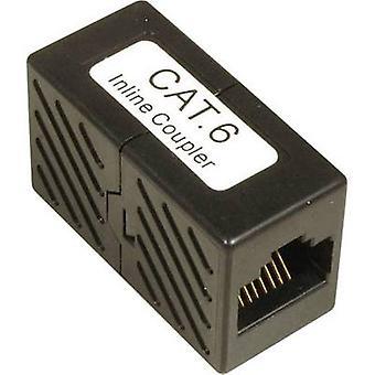 RJ45 Networks Adapter CAT 6 [1x RJ45 socket - 1x RJ45 socket]