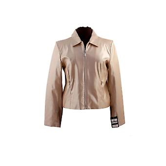 Ladies faux leather jacket David Barry DB707