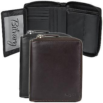 Bugatti Primo zipper leather purse wallet 491077