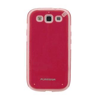 PureGear Slim Shell for Samsung Galaxy S3 Carrying Case - Strawberry Rhubarb