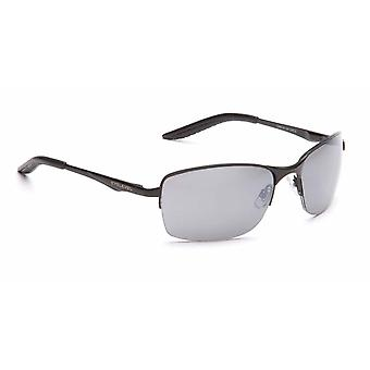 Eyelevel Crete Sunglasses with Grey Lens with Free Hard Case and Free Microfibre Cleaning Cloth Pouch