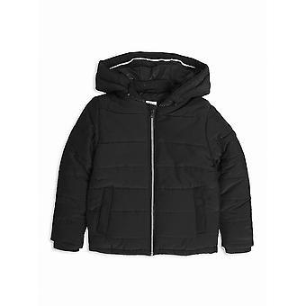 Hugo Boss Boys Hugo Boss Boys Black Hooded Bubble Jacket