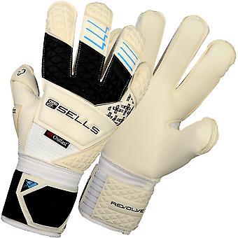 SELLS ELITE REVOLVE AQUA CAMPIONE JUNIOR Goalkeeper Gloves