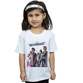 Marvel Mädchen Runaways Misty Poster T-Shirt