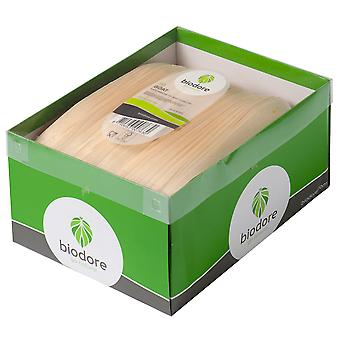 Biodore natürlichen Holz Boote 225mm