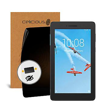 Celicious Privacy 2-Way Anti-Spy Filter Screen Protector Film Compatible with Lenovo Tab E7