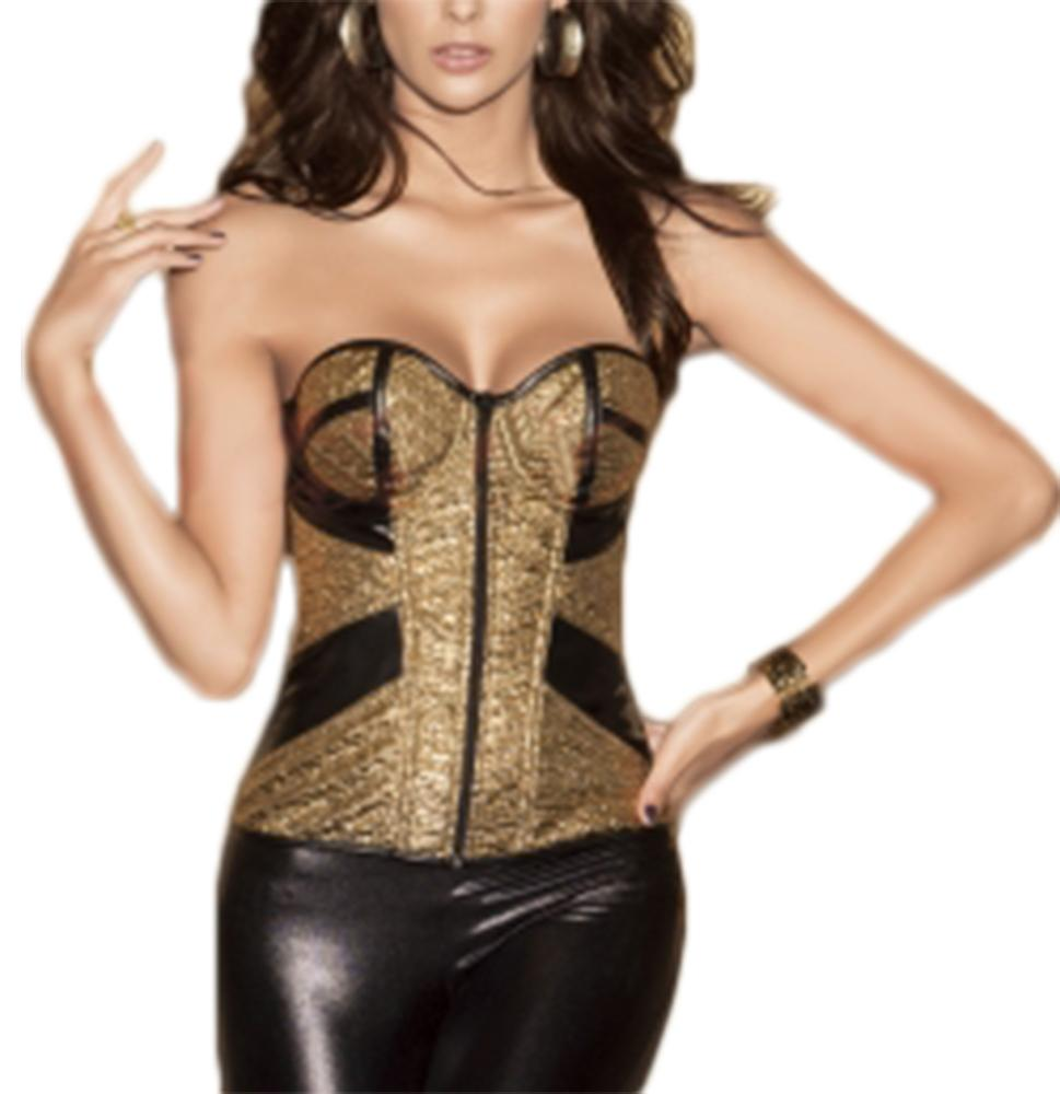 Waooh - Bustier with zip Lota