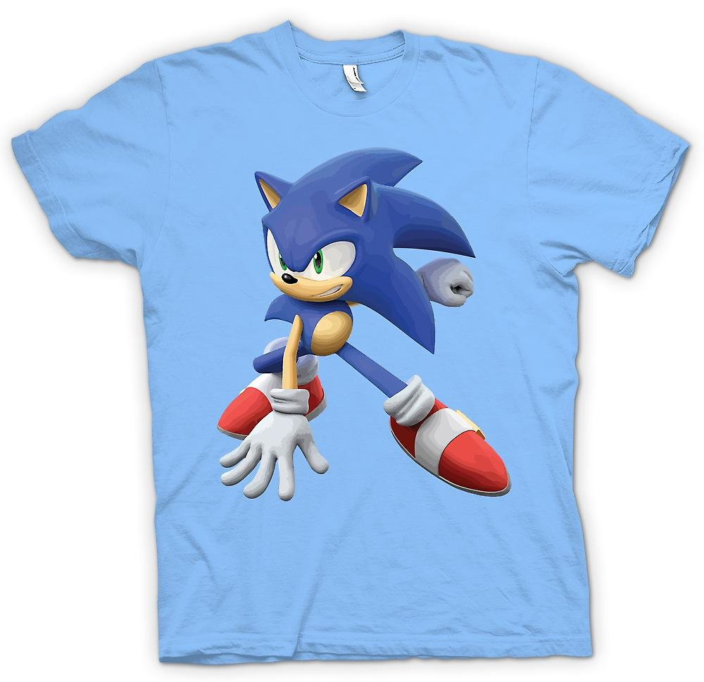 Mens T-shirt - Sonic The Hedgehog - Gamer