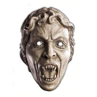 Weeping Angel Doctor Who Card Face Mask