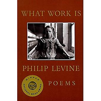 What Work is: Poems